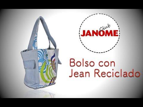 Bolso Jean Reciclado