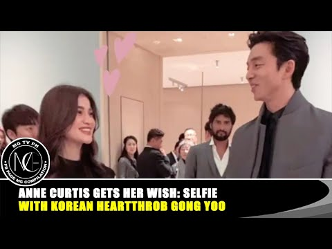 Anne Curtis Meets K-drama Crush Gong Yoo | Anne Curtis Also Got The Chance To Meet EXO Member Sehun