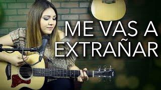 Me vas a extrañar / Banda MS / Marián (cover)
