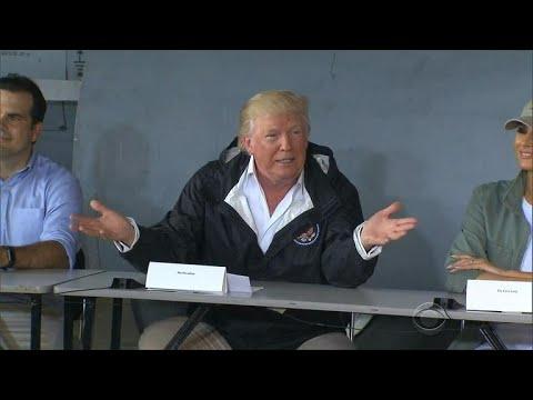 Trump visits Puerto Rico in wake of Hurricane Maria