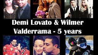 Demi Lovato & Wilmer Valderrama - Five Years (2010 - 2015)