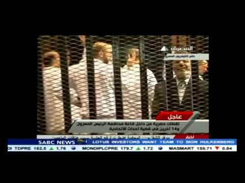 Morsi remains defiant in court, says he is still Egypt's president