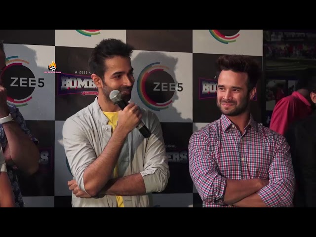 Varun Mitra, Ranvir Shorey And Others At The Press Conference Of Web Series 'BOMBERS' Part