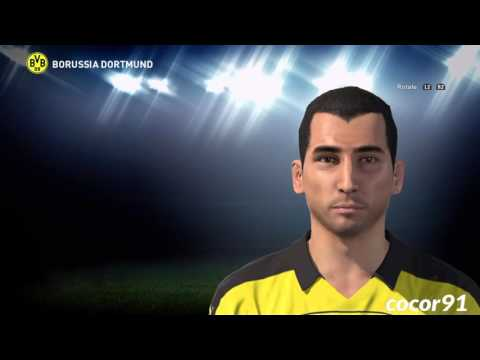 PES 2016 - H. MKHITARYAN Face Build + Stats And Skills -PS4