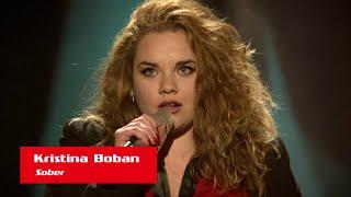 "Kristina Boban: ""Sober"" - The Voice of Croatia - Season1 - Blind Auditions5"