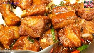 SƯỜN KHO NƯỚC MẮM Ngon Cơm - Cách Ướp Thịt Sườn & Kho Sườn Heo Kho Tiêu của Người Xưa by Vanh Khuyen