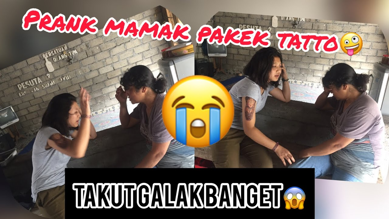 Prank Tato Ke Mamak //Auto Disuruh Jadi  Cewek ....?😱