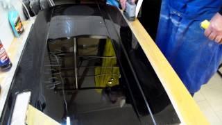 видео Обучение полировке кузова автомобиля