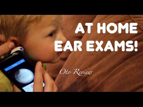 Ear Exams At Home!!