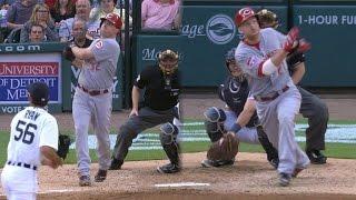 CIN@DET: Frazier, Bruce hit back-to-back homers