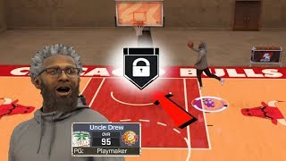 UNCLE DREW LEARNS HOW TO JELLY LAYUP AT THE PARK! 🍇 THE UNCLE DREW TAKEOVER ON NBA 2K17!!