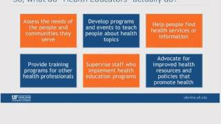 Webinar: Bachelor of Science in Health Education, Feb 24, 2015