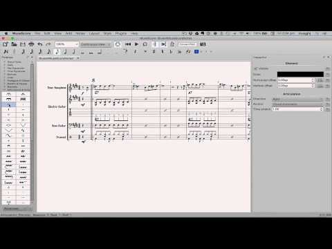 MuseScore in Minutes: Lesson 10 - Articulations, Dynamics and Text