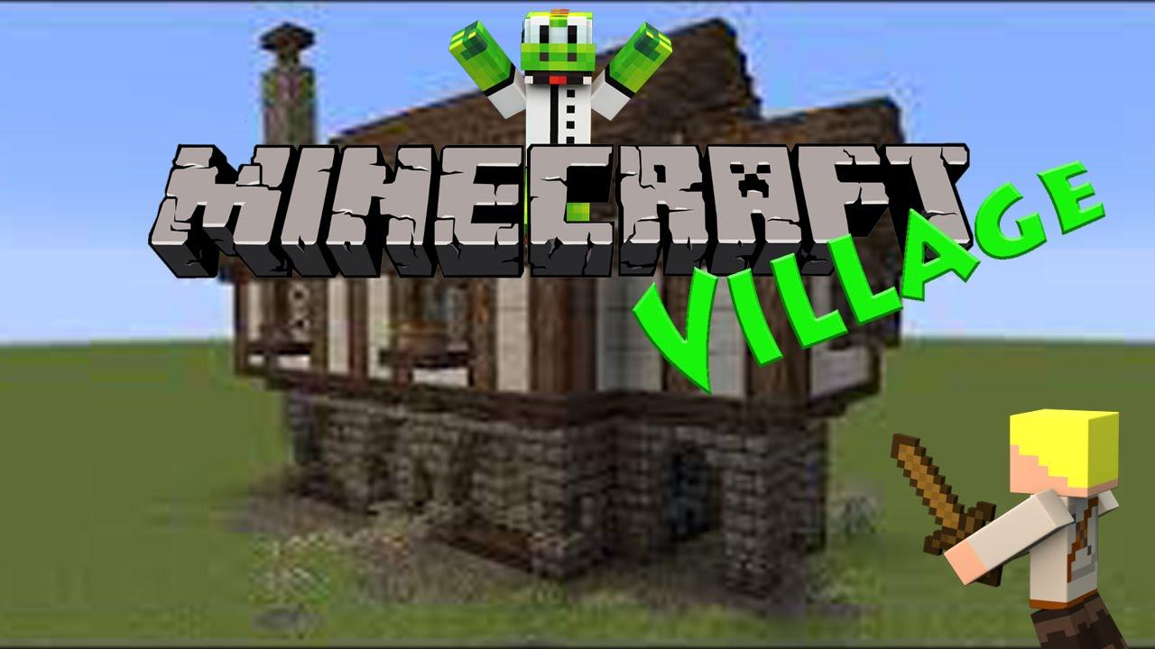 Minecraft village 012 haus bau mit tetris youtube