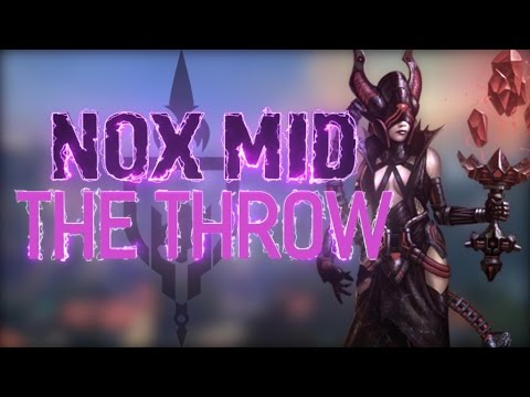 NOX MID: CAN WE UNDO THIS MASSIVE THROW??? - Incon - Smite