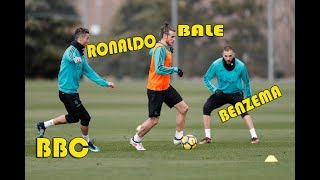 Real Madrid Final Training Session Before Heading To Valencia