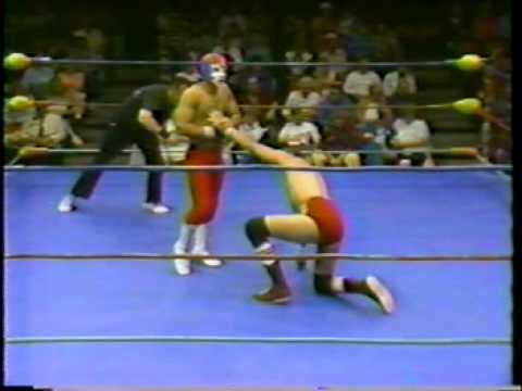 All Star Wrestling - 1986 - Atomic Kid vs. Sonny Myers feat Mauro Ranallo