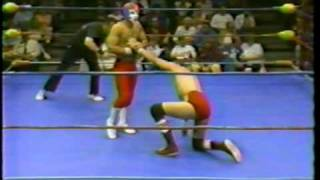 All Star Wrestling - 1986 - Atomic Kid vs. Sonny Myers feat Mauro Ranallo