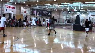 Demar derozan and sunny weems at hoopdome