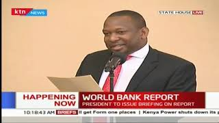 Governor Mike Sonko jokes about how CNN journalist commended him on the flowers along the highways
