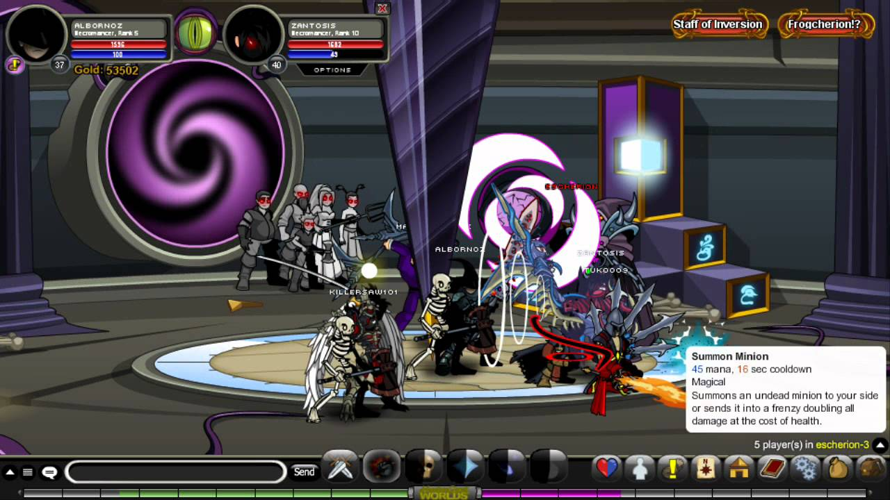Aqw Drudgen Questsupplies To Spin The Wheel Of Chance Youtube