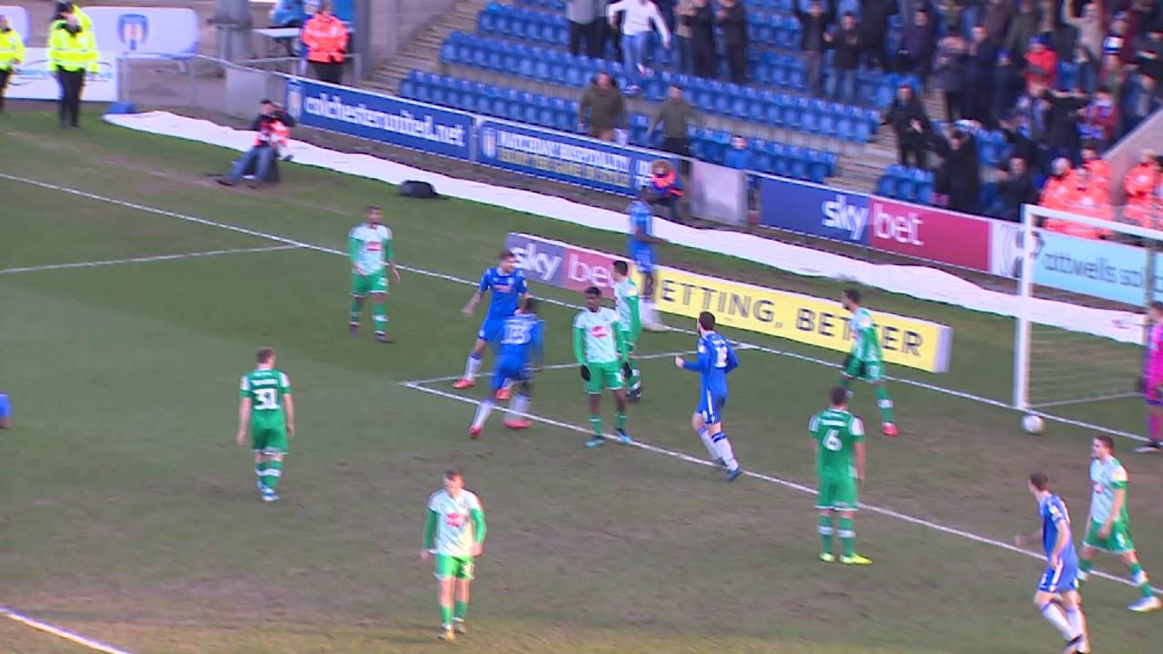 Колчестер Юнайтед  3-0  Плимут Аргайл видео
