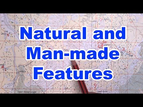 Natural and Man-made Features in a Toposheet | ICSE Geography