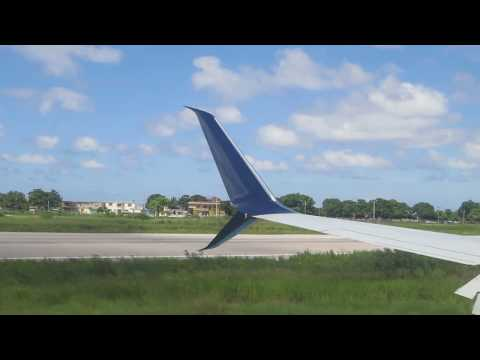 Landing in Jamaica Montego Bay   Sangster Airport 2016