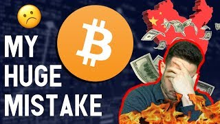 I MADE A MISTAKE! 😱is Bitcoin's Halving overhyped? China gold-backed crypto to kill USD?
