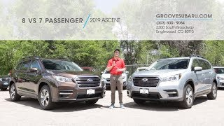 2019 Subaru Ascent | 8 vs 7 Passenger: Which one is right for you?
