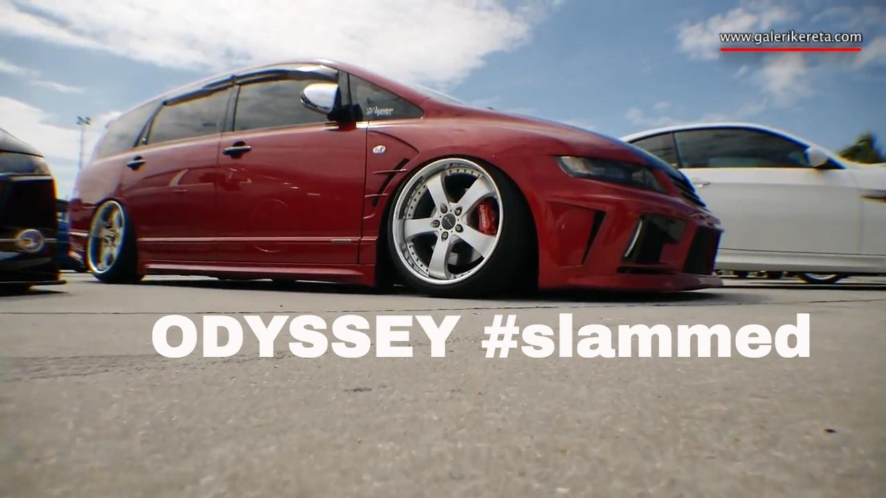 Honda Odyssey RB1 Modified Stance