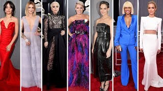 Grammy Awards 2018 Celebrities with Red Carpet