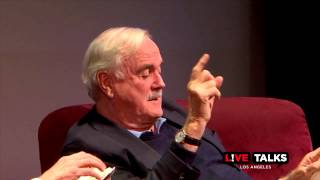 John Cleese in conversation with Eric Idle at Live Talks Los Angeles