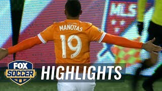 Mauro Manotas gives Houston Dynamo 2-1 lead | 2017 MLS Playoffs Highlights