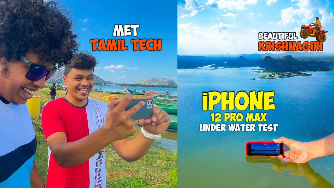 iPhone 12 Pro Max Under Water Test with Tamil Tech - Irfan's View