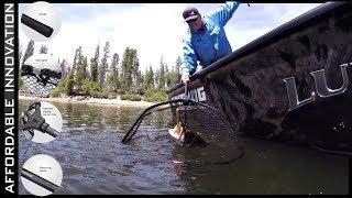 Може ваша рибальська мережа все це робити!? Новий KastKing дизайн madbite складаний нетто (патент заявлений)