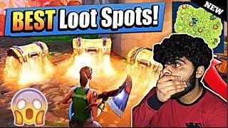 *NEW* BEST HIDDEN LOOT SPOTS! In Fortnite Battle Royale (SECRET LOCATIONS!) New Fortnite UPDATE!