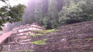 Mexico 2011 - Los Niños de Zapatos - Een tempel midden in de jungle, omdat het kan!!