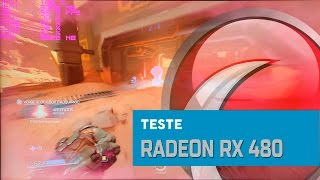TESTE - Sapphire RX 480 na resolução 1080p