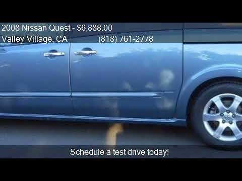 2008 Nissan Quest 35 Sl 4dr Mini Van For Sale In Valley Vil Youtube