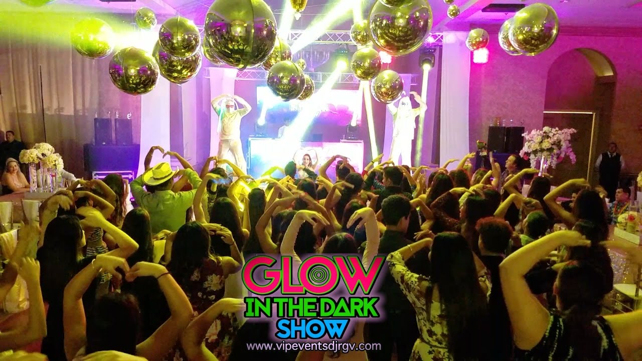 Glow In The Dark Show By Vip Events Dj Valencia Event Center Rgv