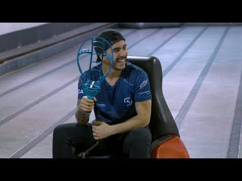 Whirly Ball With SK Gaming | CS:GO Premier 2017