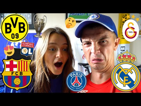 RATING ALL UEFA CHAMPIONS LEAGUE 2019/20 HOME TEAM KITS w/ TILDA!