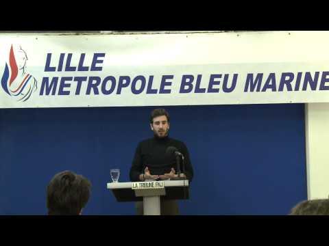 Apéro-débat n°3 à Lille avec Julien Rochedy : Mondialisme ou Patriotisme ? #FNJ