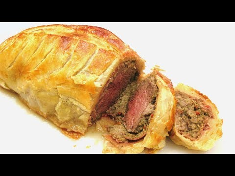Beef Wellington - Classic How to make Beef Wellington Recipe - PoorMansGourmet