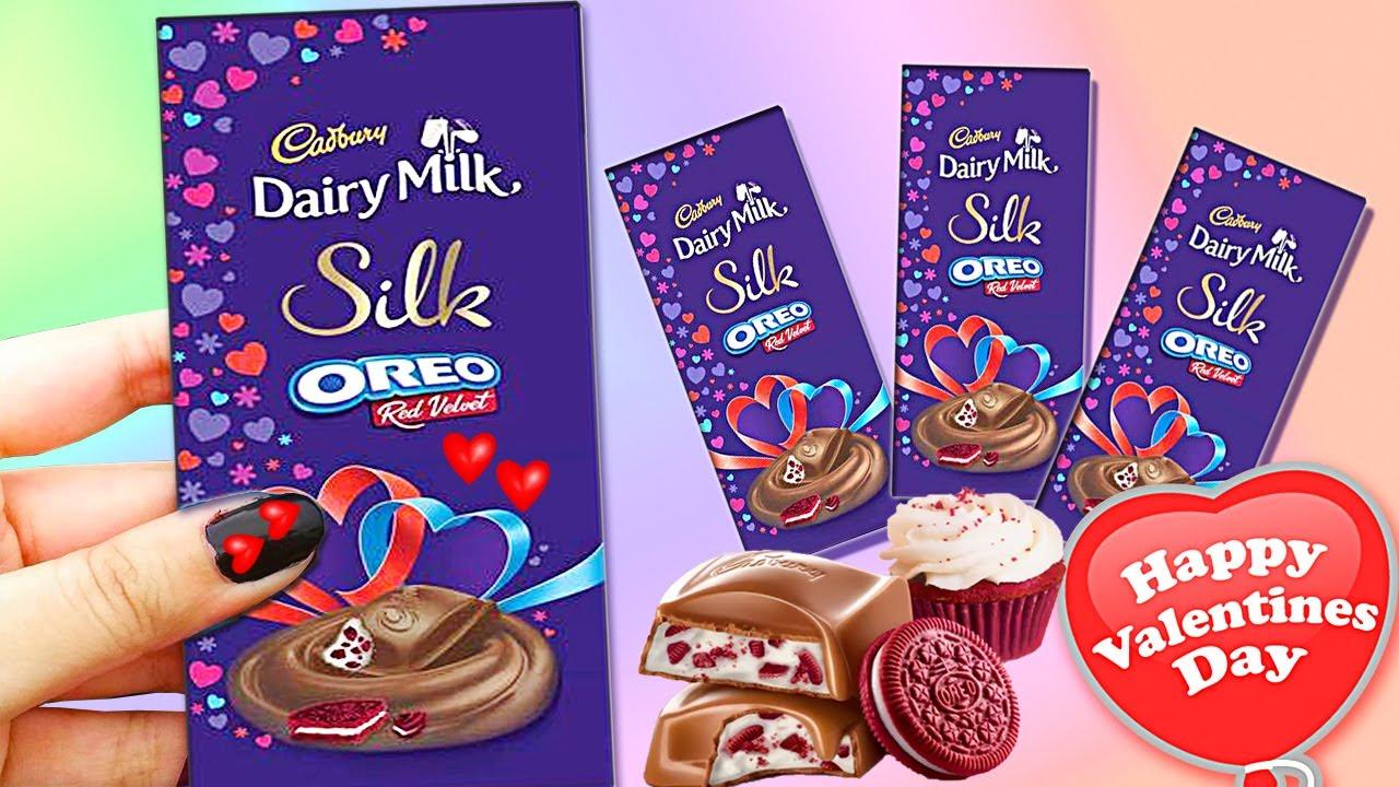 Cadbury Valentines Day Special Dairy Milk Silk Oreo Red Velvet Youtube