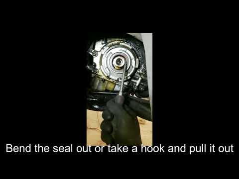 EASY Crank Seal Replacement SAAB 9-5. 9-3