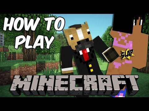 TWO FRIENDS REUNITED - How to Play Minecraft [#1] (New Survival Series!)