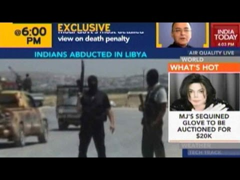 Four Indian Citizens Kidnapped In Libya