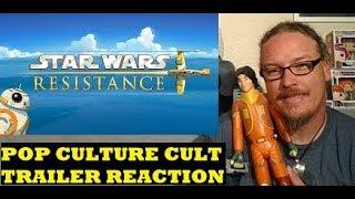 Star Wars Resistance Teaser Trailer Reaction